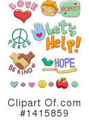 Volunteer Clipart #1415859 by BNP Design Studio