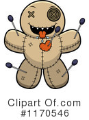 Royalty-Free (RF) Voodoo Doll Clipart Illustration #1170546