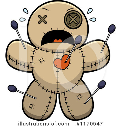 Voodoo Doll Clipart #1170547 by Cory Thoman