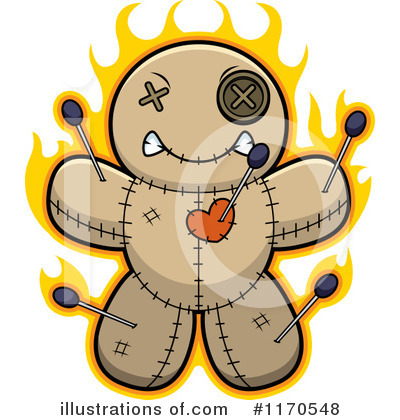 Royalty-Free (RF) Voodoo Doll Clipart Illustration by Cory Thoman - Stock Sample #1170548
