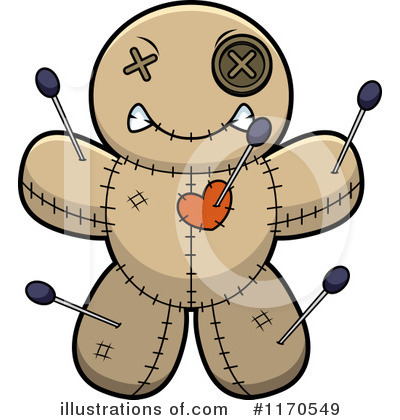 Voodoo Doll Clipart #1170549 by Cory Thoman