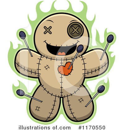 Voodoo Doll Clipart #1170550 by Cory Thoman