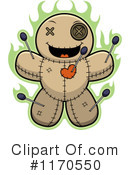 Royalty-Free (RF) Voodoo Doll Clipart Illustration #1170550