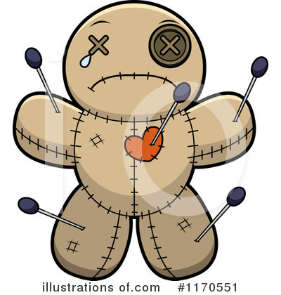 Voodoo Doll Clipart #1170551 by Cory Thoman