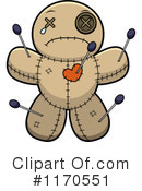 Royalty-Free (RF) Voodoo Doll Clipart Illustration #1170551