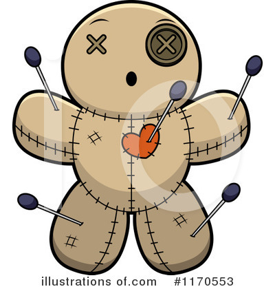 Voodoo Doll Clipart #1170553 by Cory Thoman