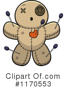 Royalty-Free (RF) Voodoo Doll Clipart Illustration #1170553