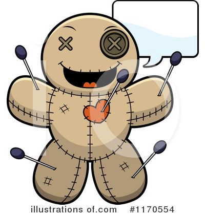 Voodoo Doll Clipart #1170554 by Cory Thoman