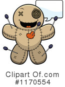 Royalty-Free (RF) Voodoo Doll Clipart Illustration #1170554