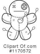 Royalty-Free (RF) Voodoo Doll Clipart Illustration #1170572