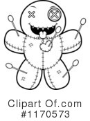 Royalty-Free (RF) Voodoo Doll Clipart Illustration #1170573