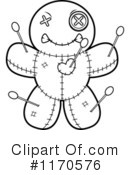 Royalty-Free (RF) Voodoo Doll Clipart Illustration #1170576