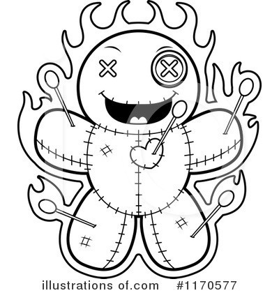 Voodoo Doll Clipart #1170577 by Cory Thoman