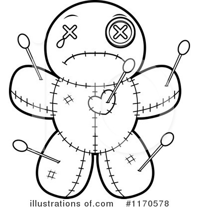 Voodoo Doll Clipart #1170578 by Cory Thoman