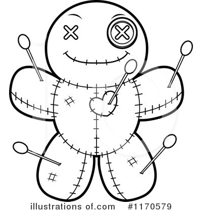 Voodoo Doll Clipart #1170579 by Cory Thoman