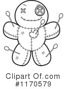 Royalty-Free (RF) Voodoo Doll Clipart Illustration #1170579