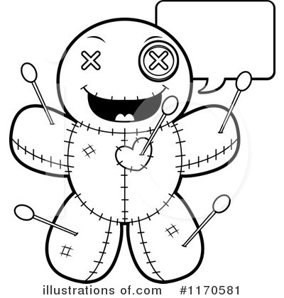 Voodoo Doll Clipart #1170581 by Cory Thoman