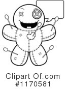 Royalty-Free (RF) Voodoo Doll Clipart Illustration #1170581