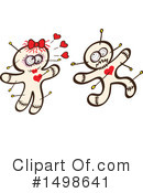 Royalty-Free (RF) Voodoo Doll Clipart Illustration #1498641
