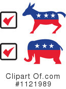 Royalty-Free (RF) Vote Clipart Illustration #1121989
