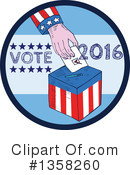 Royalty-Free (RF) Vote Clipart Illustration #1358260