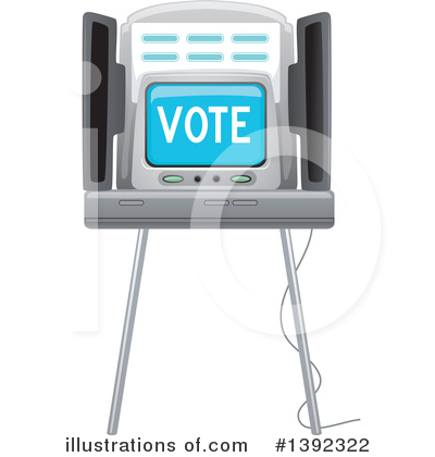 Voting Clipart #1392322 by BNP Design Studio