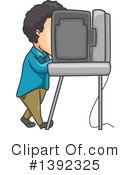 Royalty-Free (RF) Vote Clipart Illustration #1392325
