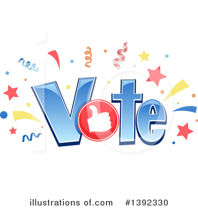 Voting Clipart #1392330 by BNP Design Studio