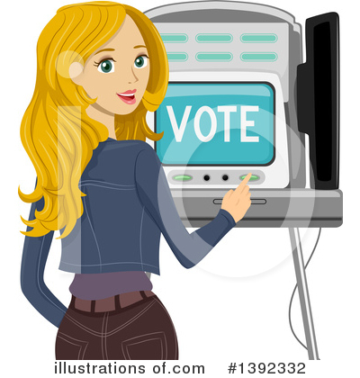 Voting Clipart #1392332 by BNP Design Studio