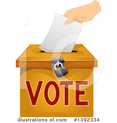 Vote Clipart #1392334 by BNP Design Studio