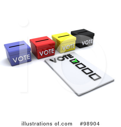 Voting Clipart #98904 by KJ Pargeter