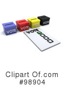 Vote Clipart #98904 by KJ Pargeter