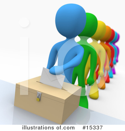 Voting Clipart #15337 by 3poD