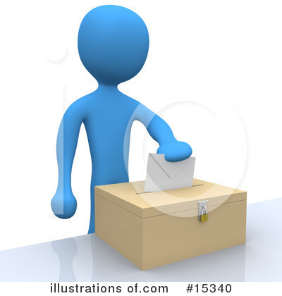 Voting Clipart #15340 by 3poD