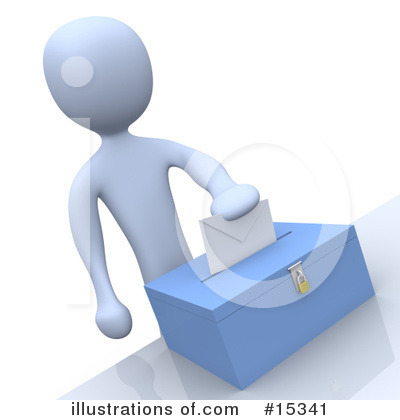 Voting Clipart #15341 by 3poD