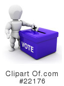 Voting Clipart #22176 by KJ Pargeter