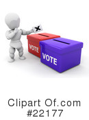 Voting Clipart #22177 by KJ Pargeter