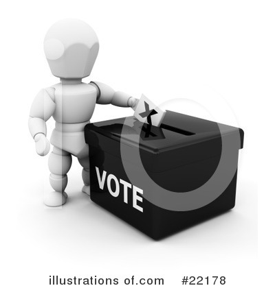 Voting Clipart #22178 by KJ Pargeter