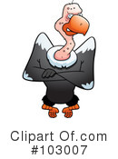 Royalty-Free (RF) Vulture Clipart Illustration #103007