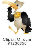 Royalty-Free (RF) Vulture Clipart Illustration #1236850