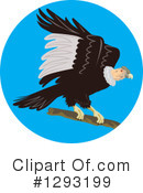 Royalty-Free (RF) Vulture Clipart Illustration #1293199