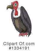 Royalty-Free (RF) Vulture Clipart Illustration #1334191