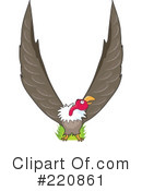 Royalty-Free (RF) Vulture Clipart Illustration #220861