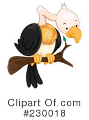 Royalty-Free (RF) Vulture Clipart Illustration #230018