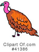 Royalty-Free (RF) Vulture Clipart Illustration #41386