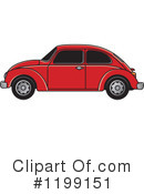 Vw Bug Clipart #1199151 by Lal Perera