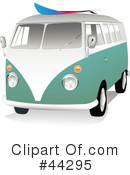 Vw Van Clipart #44295 by toonster