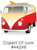 Vw Van Clipart #44296 by toonster