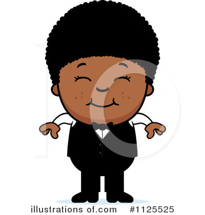 Waiter Clipart #1125525 by Cory Thoman
