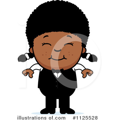 Waiter Clipart #1125528 by Cory Thoman